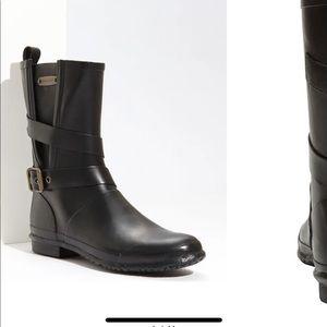 Burberry Buckled Rain Boot